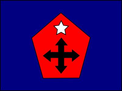 bandera cruzados